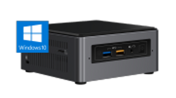 Intel NUC 7 Home, a mini PC with Windows 10, Intel Core i5, 1TB, 16GB Intel Optane Memory, 4GB DDR4, Single Pack