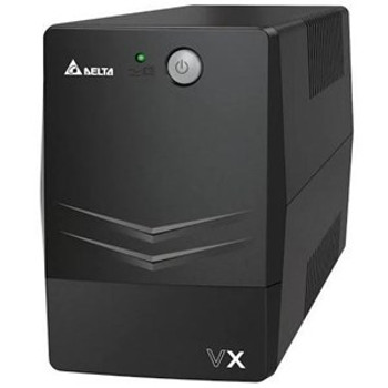 DELTA VX Line Interactive 600VA/360W Mini Tower UPS 2Y AR Warranty (Include Battery)