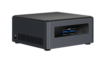 Intel NUC Kit, i3-7100U Processor(3M Cache, 2.40 GHz), M.2 and 2.5 Drive, 3yrs warranty