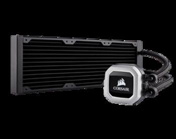 Corsair Hydro Series, H150i PRO RGB, 360mm Radiator, Triple 120mm ML Series PWM Fans, RGB Lighting and Fan Control with Software, Liquid CPU Cooler