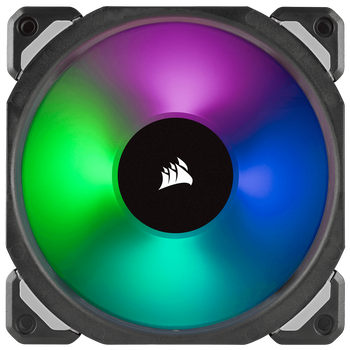 CORSAIR ML120 PRO RGB, 120mm Premium Magnetic Levitation RGB LED PWM Fan, Single Pack