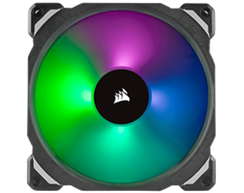 CORSAIR ML140 PRO RGB, 140mm Premium Magnetic Levitation RGB LED PWM Fan, Single Pack