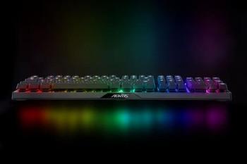 AORUS K9-RED Keyboard RGB, Flaretech Optical Switch-RED, Water-resistant