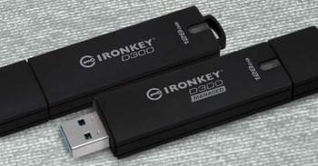 32GB IronKey D300 Encrypted USB 3.0 FIPS Level 3
