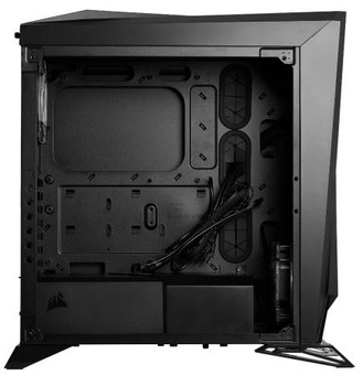 CORSAIR Carbide Series SPEC-OMEGA RGB Mid-Tower Tempered Glass Gaming Case, Black