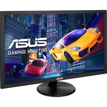 "ASUS VP247QG 23.6"" Gaming 1ms 75Hz Eyecare Free-Sync SPK GamePlus DP HDMI Splendid QuickFit TUV Certified Monitor"