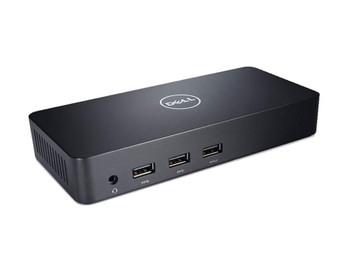 Dell D3100 USB UHD 4K Docking Station, Gbe(1), Usb(5), Hdmi(2), Dp(1), 1Yr Wty