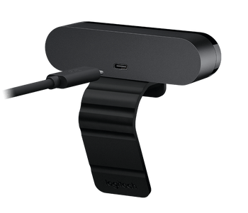 LOGITECH Brio 4K Ultra HD Webcam with RightLightT 3 & HDR (Brown Box Packaging)