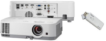 NEC ME301XG LCD Projector bundled with NP05LM4 Wireless Dongle