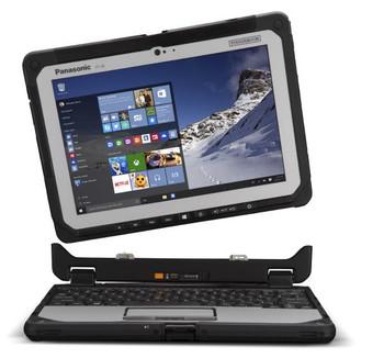 "Panasonic Toughbook CF-20 (10.1"" Detachable) Mk1 with 256GB SSD, 8GB Ram"
