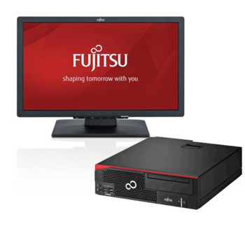"Fujitsu ESPRIMO D556 i5-7400 + FREE E22T-7 22"" LED Monitor Bundle (2 per customer)"