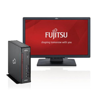 "Fujitsu ESPRIMO Q556 i5-7400, 8GB, 256GB, W10P + FREE E22T-7 22"" LED Monitor Bundle (2 per customer)"