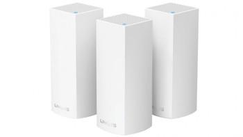 Linksys Velop Wi-Fi Mesh System AC2200 Tri-Band, MU-Mimo Lan (2), Wan(2), 3-pack, 3yr Wty