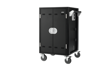 20 bays, tablets, laptops & Chromebooks Charge Cart - Free cabling System, small foot print for easy storage