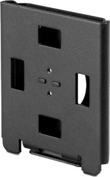 SpacePole Flush Wall Mount - Black