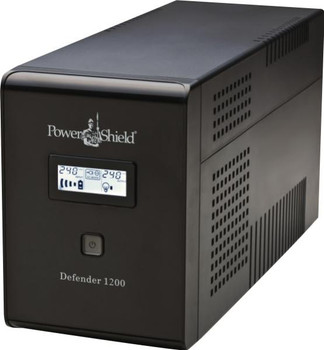 PowerShield Defender 1200VA / 720W Line Interactive UPS with AVR, Australian Outlets and user replaceable batteries.