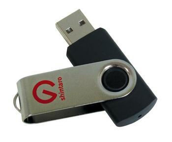 Shintaro 32GB Rotating Pocket Disk USB2.0