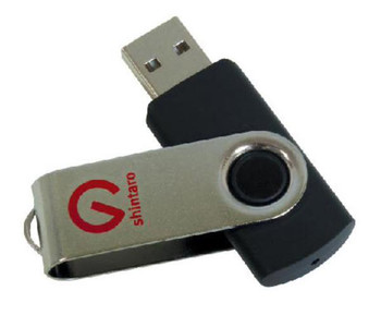 Shintaro 64GB Rotating Pocket Disk USB2.0