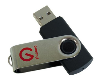 Shintaro 8GB Rotating Pocket Disk USB2.0
