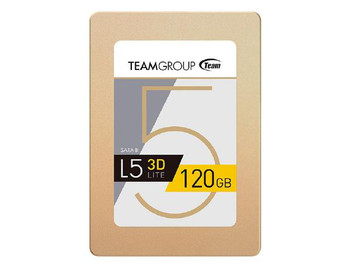 """Team 2.5"""" SSD 7mm 120GB L5 LITE 3D SATA3  (Read - 470MB/s, Write - 300MB/s)"""
