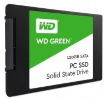 Bundle 5 x WD SSD Green, 2.5 Form Factor, SATA Interface, 120GB, CSSD Platform, 3Yr Warranty