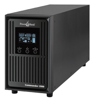 PowerShield Commander 1100VA / 990W Line Interactive Pure Sine Wave Tower UPS with AVR. Telephone / Modem / LAN Surge Protection, Australian Outlets