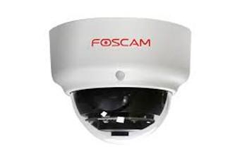 FOSCAM FI9961EP 2MP 1080P OUTDOOR WIRED POE DOME, 20M IR, MIROSD, WHITE