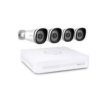 FOSCAM 4 x 1MP 720P OUTDOOR WIRED POE IP CAMERA + 8CH NVR KIT (1TB HDD)