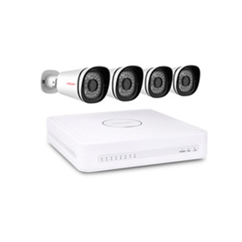 FOSCAM 4 x 2MP 1080P OUTDOOR WIRED POE IP CAMERA + 8CH NVR KIT (2TB HDD)