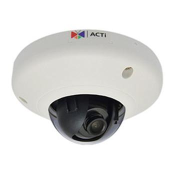 E93 5MP INDOOR MINI DOME 1080P / 30FPS, MICROSD, WDR POE, F2.93MM / F2.0, H.264 DNR
