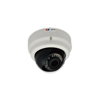 E65 3MP INDOOR DOME VARI 1080P/30FPS, SDHC, D/N, SWDR POE, F2.8-12MM/F1.4, DNR, IR