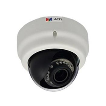 E67A 2MP INDOOR DOME VARI 1080 P/30FPS, SDHC, D/N, WDR SLLS,F 2.8-12MM/F1.4, DNR, IR