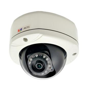 E77 10MP OUTDOOR DOME IP66 1080P/30FPS, SDHC, D/N IK10 F3.6MM/F1.8, DNR, IR, WDR