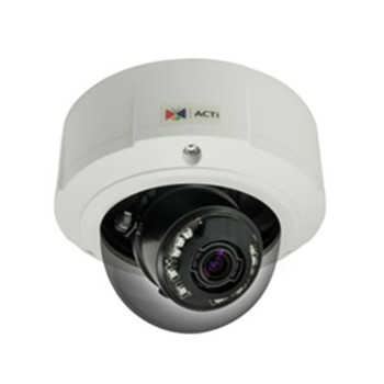 B81 5MP OUTDOOR DOME 3X ZOOM FIXED LENS, BASIC WDR, POE AUDIO, D/N, MICROSD, IP66