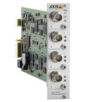 0354-001 Q7414 4CH WITH AUDIO VIDEO SERVER, JPEG-H.264, 25FPS, BLADE VERSION