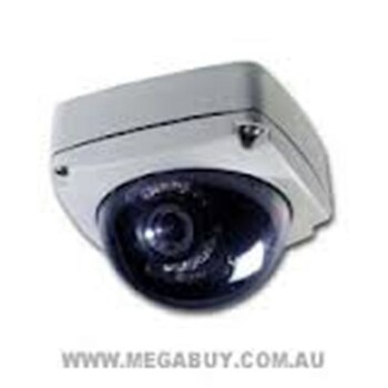 VANDAL RESISTANT DOME CAMERA IP CAMERA, 720X576, POE WITH 10MT IR, 25FPS - D1 RES