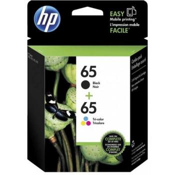 HP #65 Black & Colour Ink Pack