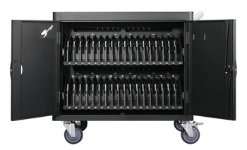 36 bays, tablets, laptops & Chromebooks Charge Cart
