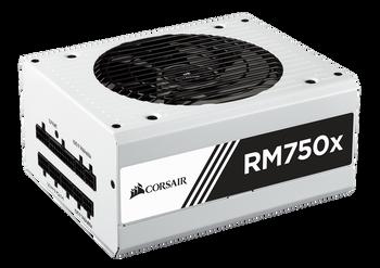 Corsair RM750x Power Supply, Fully Modular 80 Plus Gold 750 Watt, AU Version-100% All Japanese 105 C capacitors- WHITE