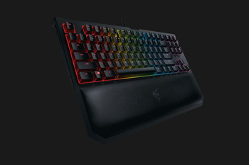 RAZER BLACKWIDOW TOURNAMENT EDITION CHROMA V2 MECHANICAL GAMING KEYBOARD - US LAYOUT FRML (ORANGE SWITCH)