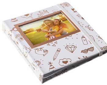 HP Sprocket Gold & White Album