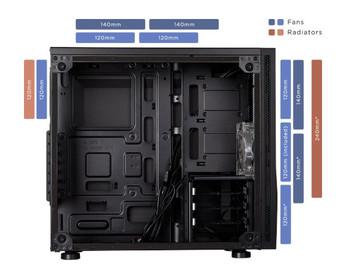 CORSAIR Carbide Series SPEC-05 Mid-Tower Gaming Case, Black