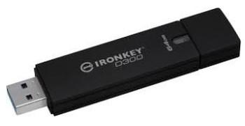 4GB IronKey D300 Managed Encrypted USB 3.0 FIPS Level 3