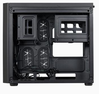 CORSAIR Crystal Series 280X RGB Micro-ATX Case, Black