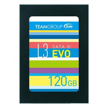 """TEAM 2.5"""" STD SATA3 L3 EVO 7mm 120GB SSD"""