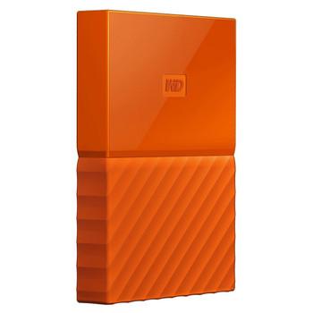 WD 2TB My Passport Portable Hard Drive (Orange)
