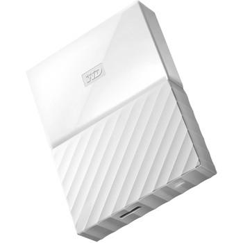 WD 2TB My Passport Portable Hard Drive (White)