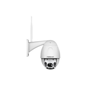 FOSCAM FI9928P 2MP 1080P OUTDOOR WIRELESS PAN/TILT DOME, 4 x ZOOM, 60M IR, WHITE