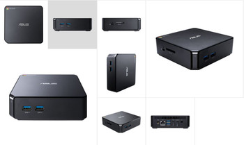 CHROMEBOX CELERON 3215U,4GB,16G SSD M.2,GB LAN, 802.11ac,BT4.0,CReader,HDMI,DP,Chrome OS,VESA,1Y PUR