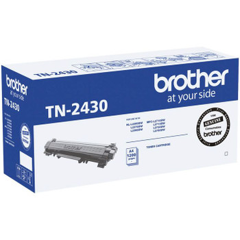 Brother TN-2430 Mono Toner - Up to 1,200 Pages
